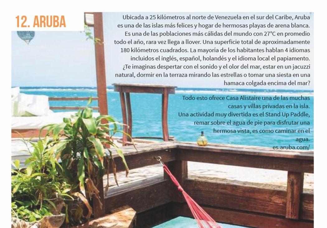 12. Aruba