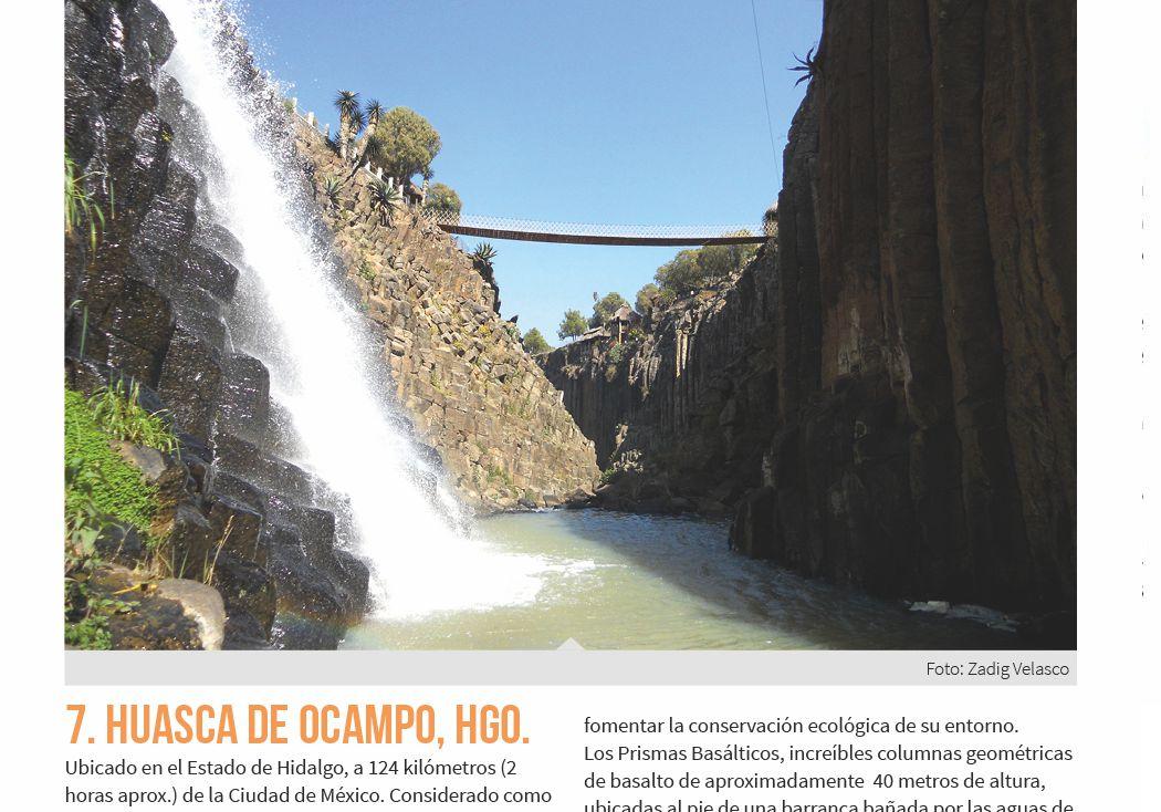 7. Huasca de Ocampo, Hgo.