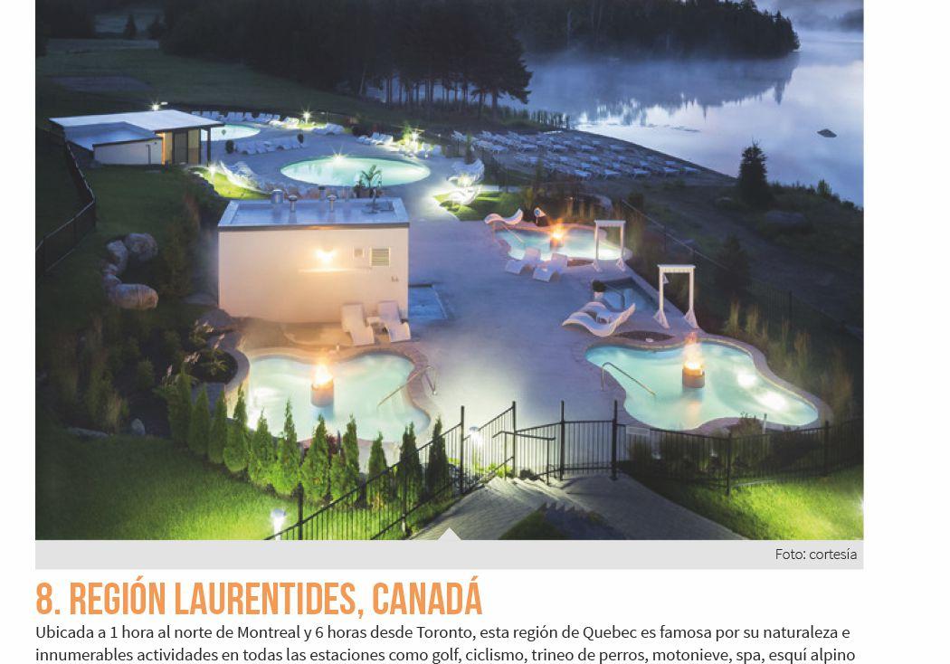 8. Región Laurentides, Canadá