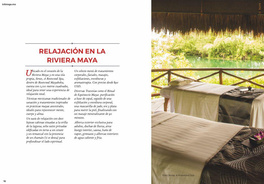 Relajación en la Riviera Maya