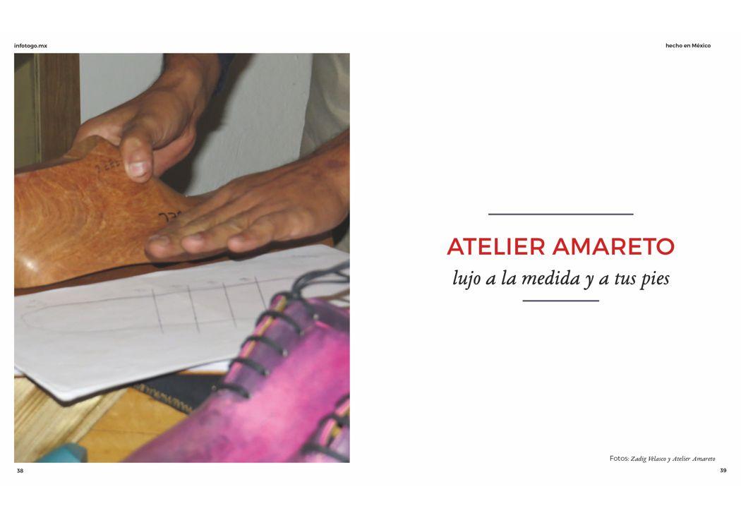 Atelier Amareto: lujo a la medida y a tus pies
