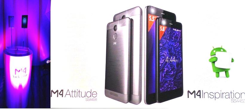 Nuevos smartphones M4
