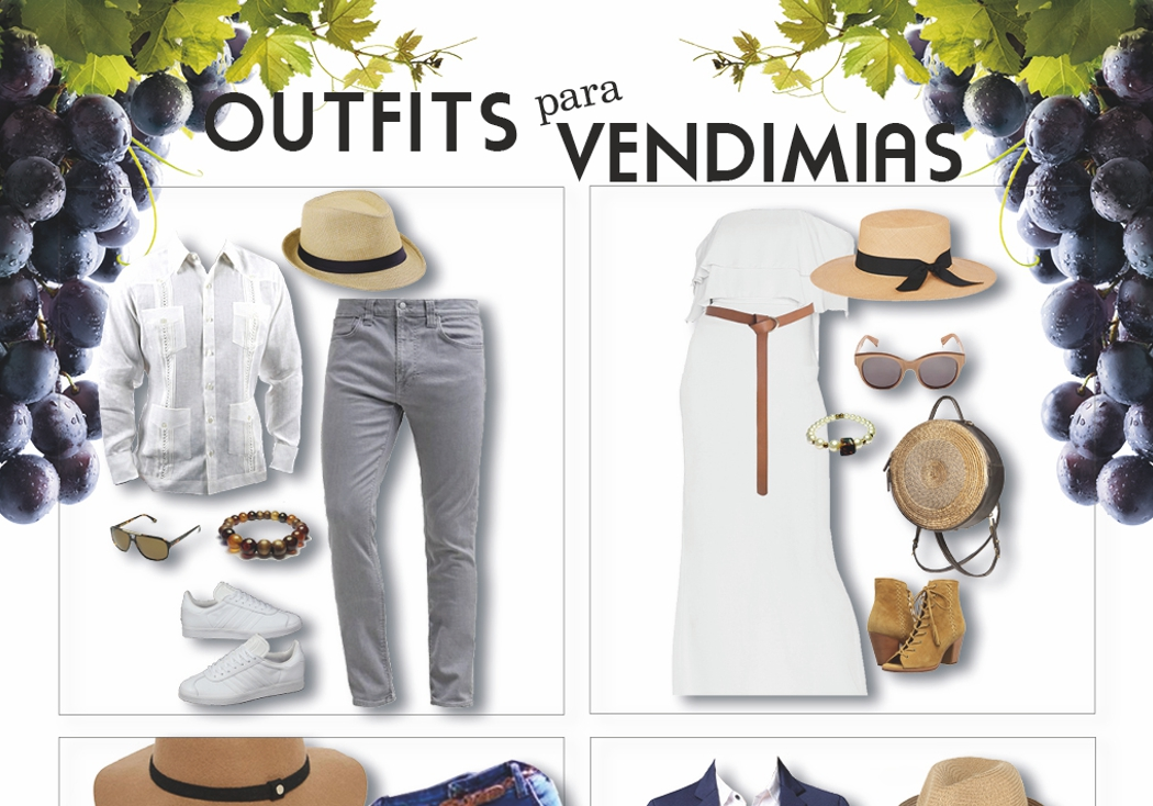 Ideas de outfit para las vendimias
