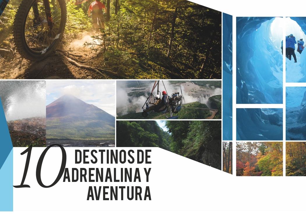 10 Destinos de adrenalina y aventura