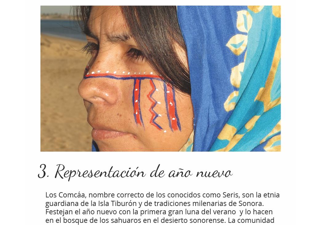 Representación de año nuevo en Hermosillo