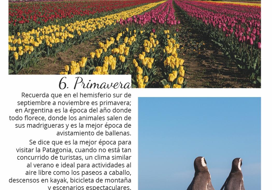 Primavera en Argentina