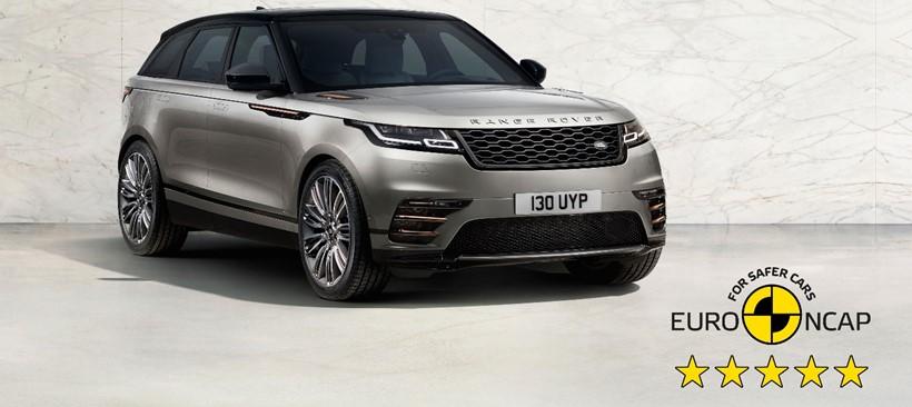 Range Rover Velar, consigue cinco estrellas en las pruebas de seguridad