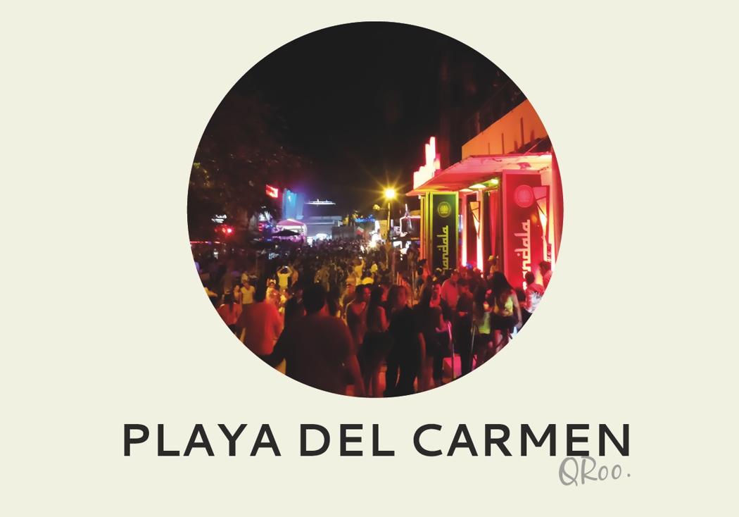Año nuevo 2018: Playa del Carmen, QRoo.