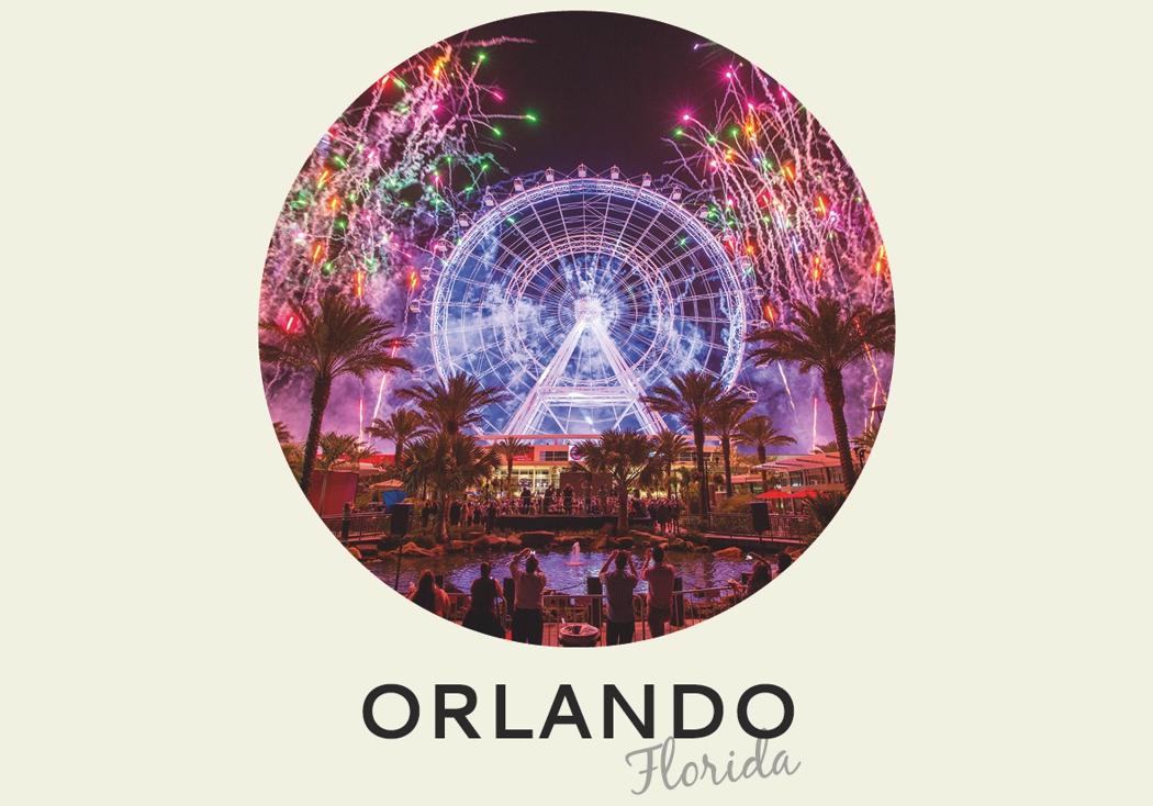 Año nuevo 2018: Orlando, Florida