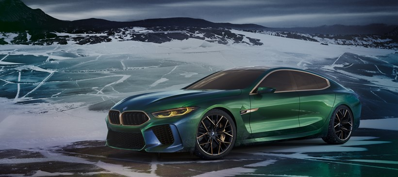 BMW Concept M8 Gran Coupé, lujo único