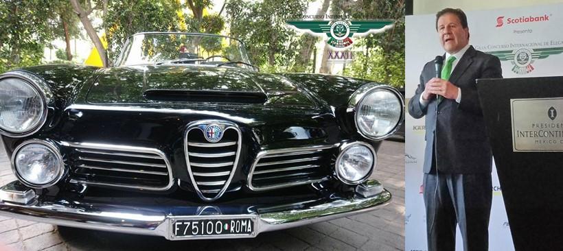 Más de 400 autos clásicos reunidos en el gran concurso internacional de elegancia