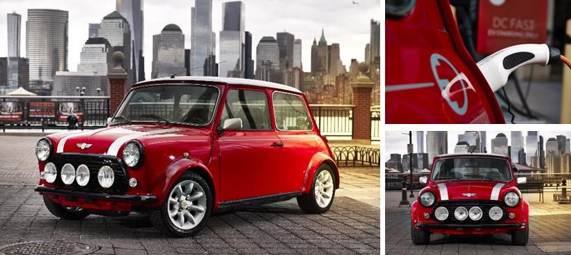 El clásico Mini, ahora es eléctrico