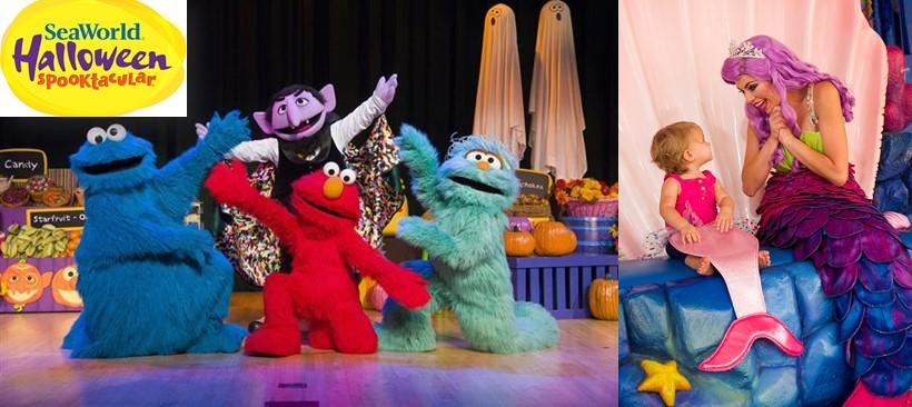 Halloween 'Spooktacular' regresa a SeaWorld Orlando