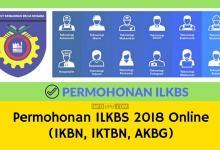 Permohonan IKBN (ILKBS) 2018 Online IKTBN AKBG