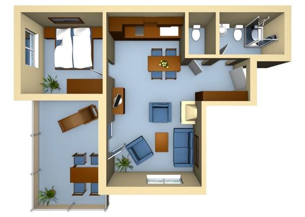 Strandhaus Aurell Fewo Typ 3