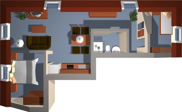 Strandhaus Aurell Fewo Typ 5