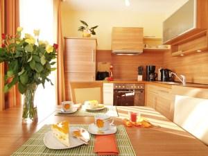 Strandhaus Aurtell Typ I Küche