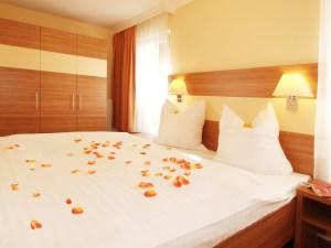 Strandhaus Aurell Typ I Schlafzimmer