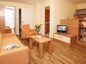 Strandhaus Aurell Typ I Wohnzimmer