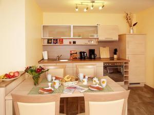 Küche Typ IV Strandhaus Aurell Seebad Bansin Ferienwohnung