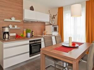 Dünenhaus Aurell App.II Küche