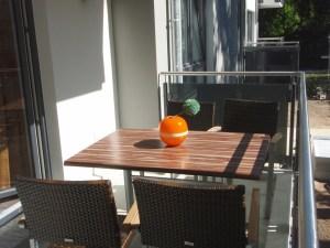 Dünenhaus Aurell App. III Balkon