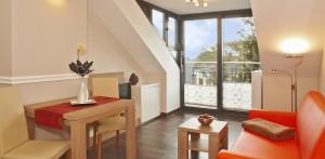 Strandhaus Aurell - Seebad Bansin Typ VII - TV Schlafzimmer