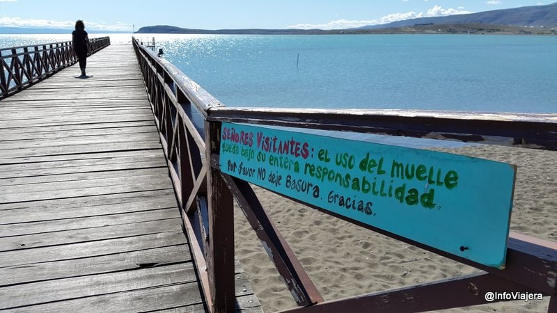 El_Calafate_Excursion_Sedimentos_Lacustres_Muelle_Advertencia