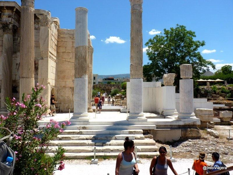 Biblioteca_Adriano_Restauracion_Atenas_Grecia