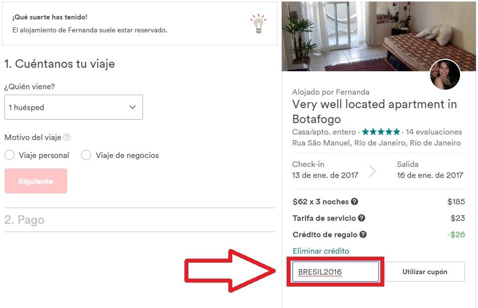 Antes de reservar en Airbnb tirate el lance (adivinando cupones ...