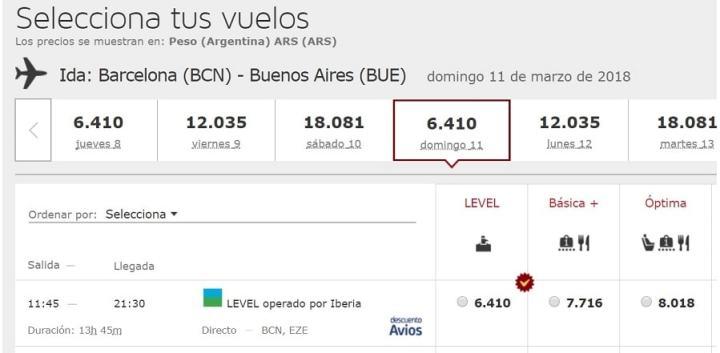 Level aumenta su frecuencia y se consiguen vuelos por ar for Vuelos de barcelona a paris low cost