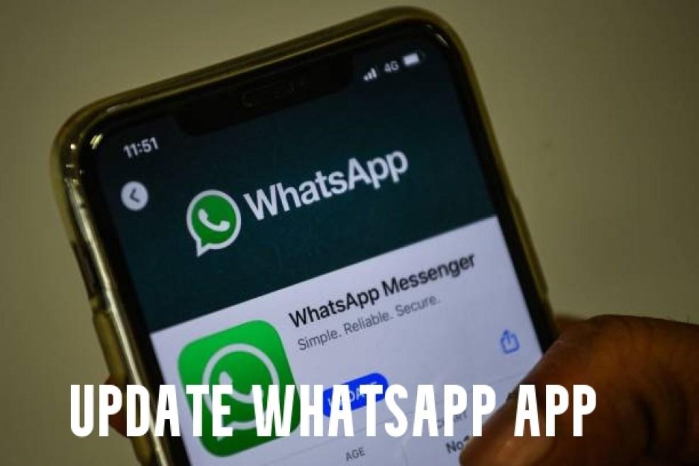 Update WhatsApp App