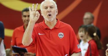 Basketball-Coach Gregg Popovich ist der Meinung, dass gerade die weiße Bevölkerung gegen Rassismus eintreten müsse. Foto: Ding Ting/XinHua/dpa