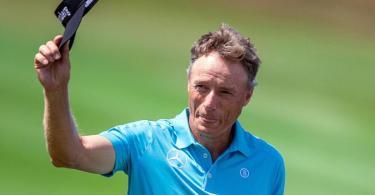 Tritt in Texas gegen die besten Golfer der Welt an: Routinier Bernhard Langer. Foto: Jens Büttner/dpa-Zentralbild/dpa