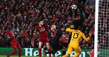 Am 11. März spielte der FC Liverpool in der Champions League gegen Atlético Madrid. Foto: Peter Byrne/PA Wire/dpa