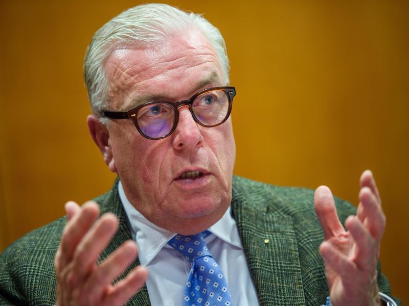 Klaus Reinhardt ist Präsident der Bundesärztekammer und Facharzt für Allgemeinmedizin. Foto: Gregor Fischer/dpa