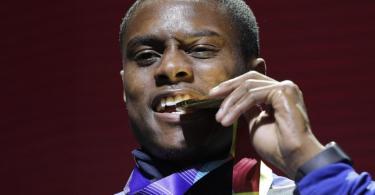 Sprintweltmeister Christian Coleman hat erneut einen Dopingtest verpasst. Foto: Nariman El-Mofty/AP/dpa