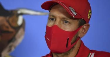 Sebastian Vettel muss Ferrari am Saisonende verlassen. Foto: Mark Sutton/MSN POOL/AP/dpa