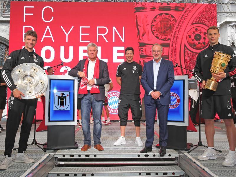 Twitter Reaktionen Stars Gratulieren Bayern Zum Triple Fc