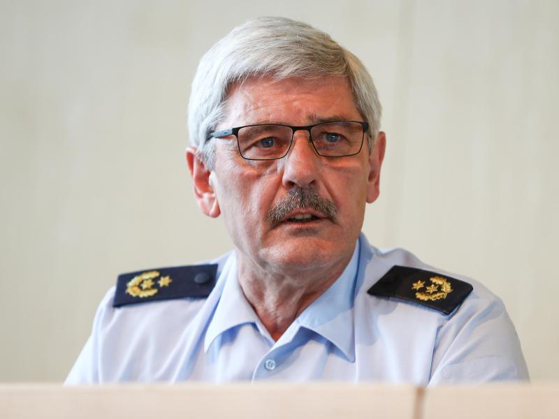 Stuttgarts Polizeipräsident Frank Lutz. Foto: Christoph Schmidt/dpa