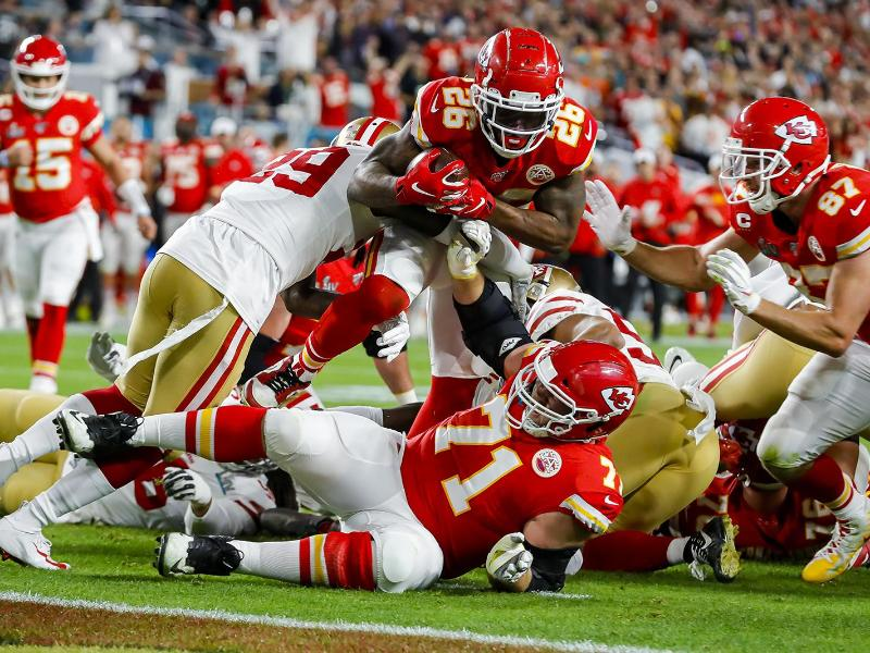 Die Kansas City Chiefs müssen zum NFL-Auftakt ohne Laurent Duvernay-Tardif auskommen. Foto: Charles Trainor Jr/TNS via ZUMA Wire/dpa