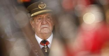 Aufenthaltsort unbekannt:Juan Carlos. Foto: Daniel Ochoa De Olza/AP/dpa