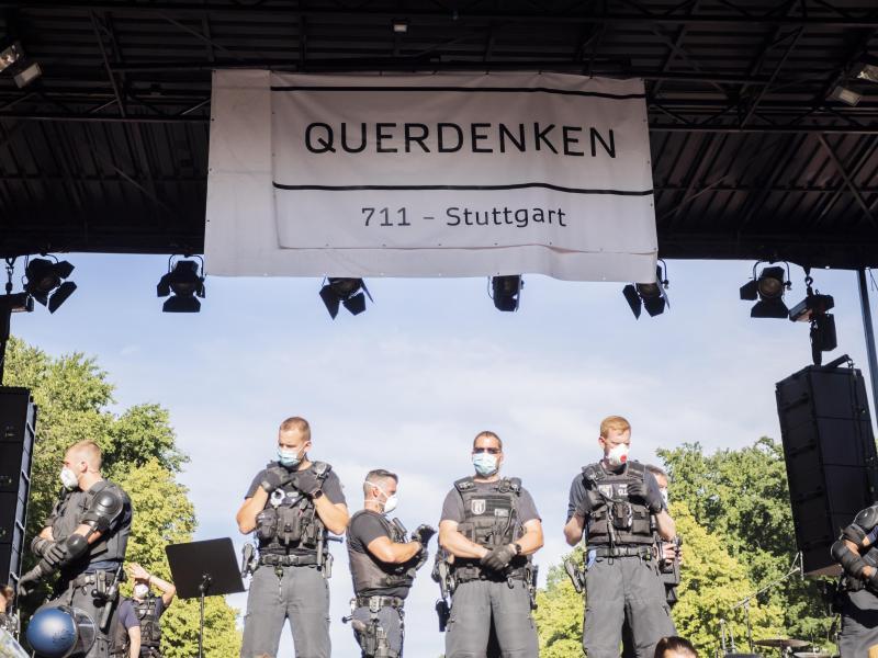 Die geplante Großdemonstration gegen die Corona-Politik in Berlin ist abgesagt. Foto: Christoph Soeder/dpa/Archivbild