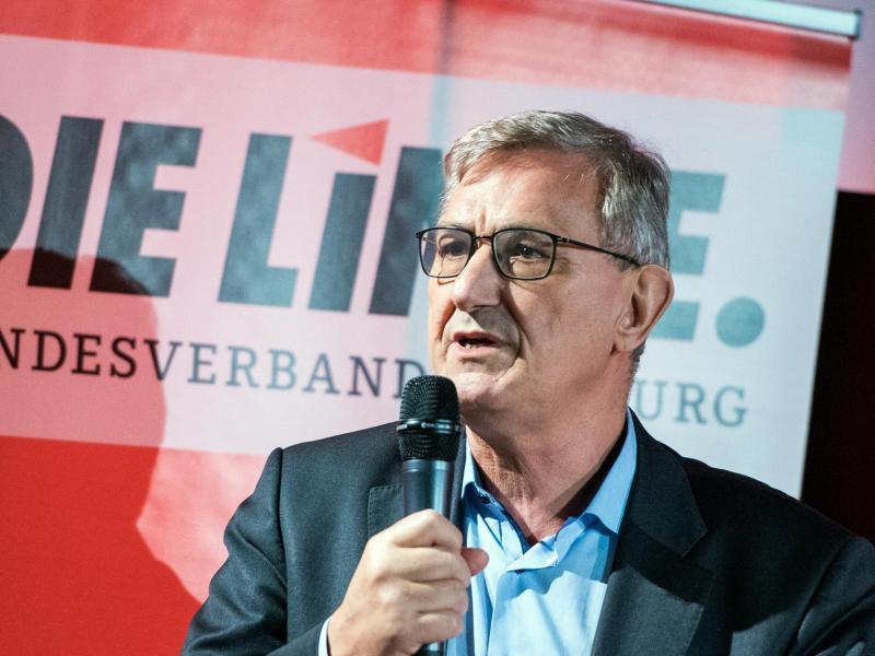 Bernd Riexinger wird im Oktober nicht wieder für den Spitzenposten kandidieren. Foto: Daniel Bockwoldt/dpa
