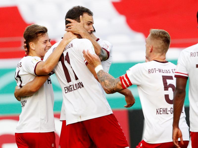 Für Bundesliga-Aufsteiger Arminia Bielefeld war Viertligist Rot-Weiss Essen eine Nummer zu groß. Foto: Roland Weihrauch/dpa