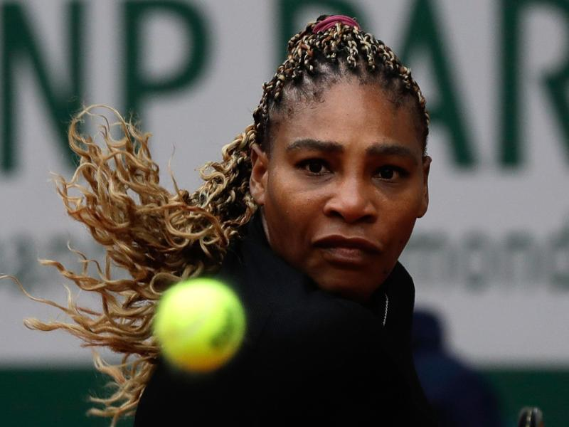 Meisterte ihre Auftakthürde: Serena Williams. Foto: Alessandra Tarantino/AP/dpa
