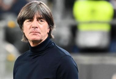 Bundestrainer Joachim Löw steht nach der 0:6-Pleite gegen Spanien in der Kritik. Foto: Federico Gambarini/dpa