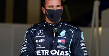 Sicherte sich seinen sechsten WM-Titel: Mercedes-Pilot Lewis Hamilton. Foto: Will Oliver/Pool EPA/AP/dpa