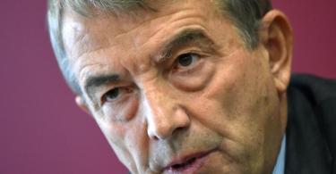 Trat 2015 wegen der Sommermärchen-Affäre als DFB-Präsident zurück: Wolfgang Niersbach. Foto: Arne Dedert/dpa
