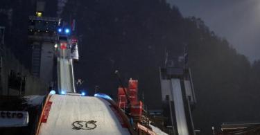Auch der Vierschanzentournee-Auftakt in Oberstdorf findet vor leerenRängen statt. Foto: Karl-Josef Hildenbrand/dpa